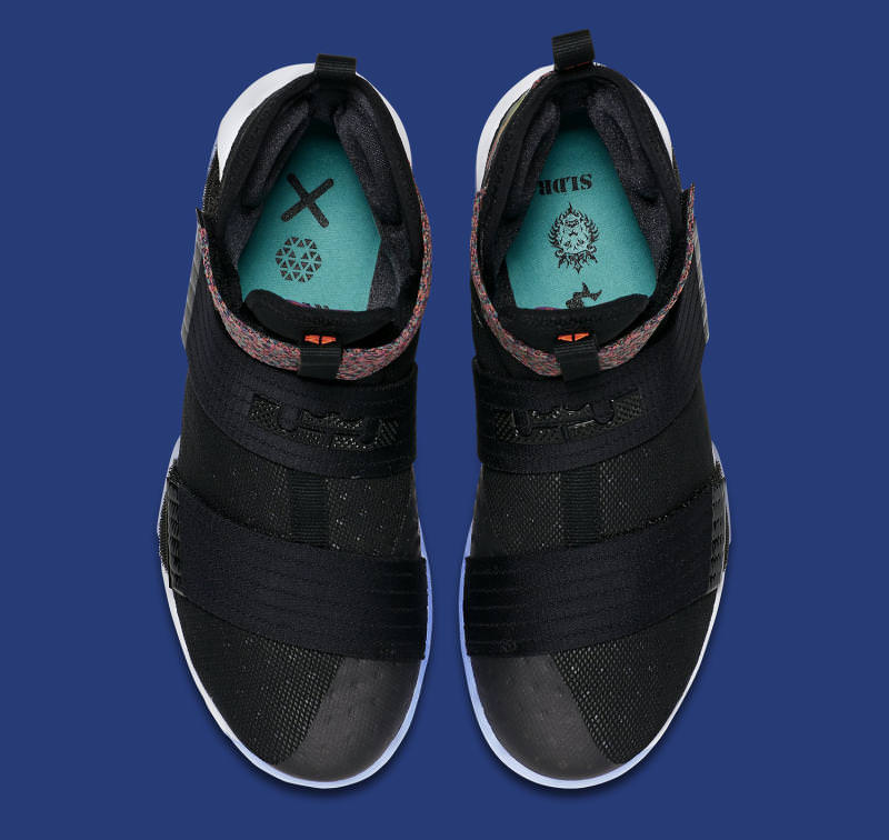 huge discount f6bd2 67924 Nike LeBron Soldier 10 Black Iridescent ...