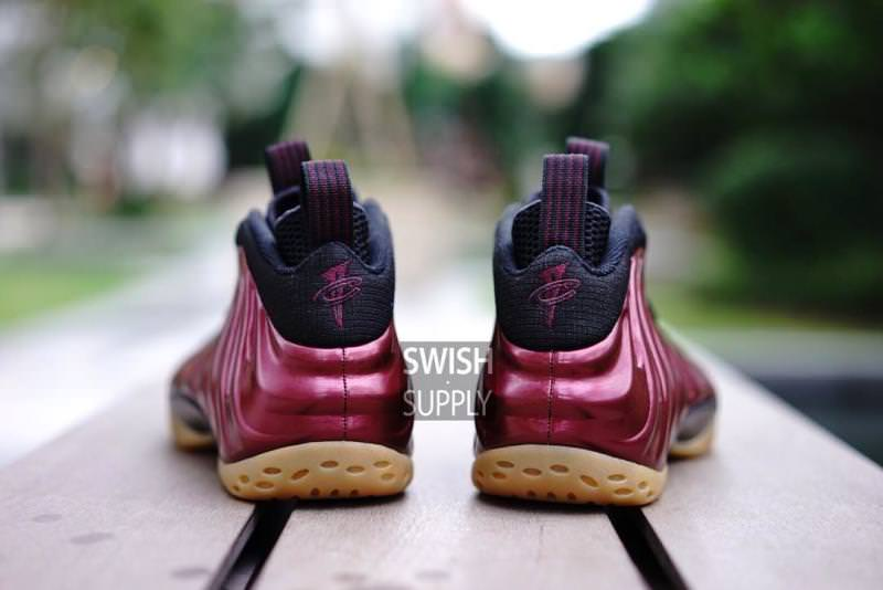 detailed look 9960f 161a0 Nike Air Foamposite One Maroon Nike Air Foamposite One Maroon
