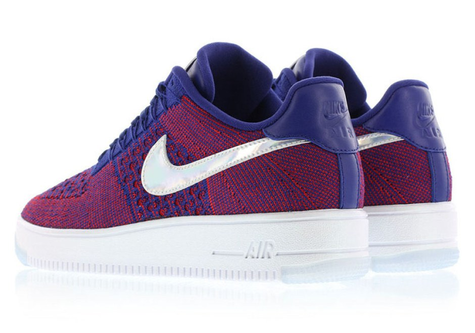 The Nike Air Force 1 Flyknit Low Goes Americana with
