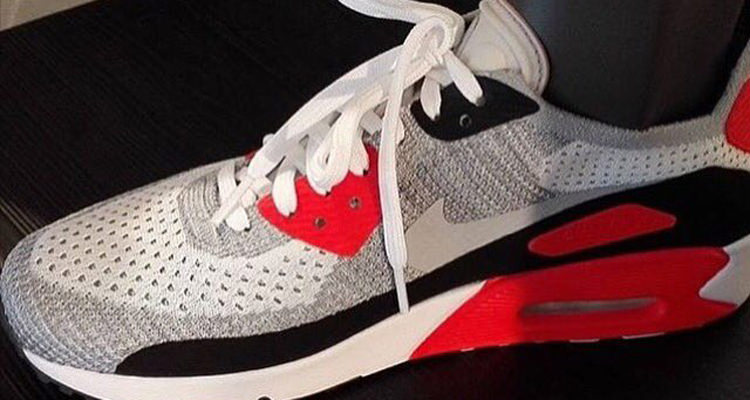 nike air max 90 infrared nice kicks. Black Bedroom Furniture Sets. Home Design Ideas