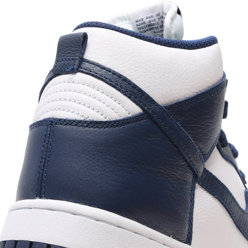 best sneakers dc4b0 d9b34 ... RETRO QS 850477 103 Nike dunk Haile fatty tuna white navy sneakers  shoes Nike Dunk High Villanova Nike Dunk High Villanova ...
