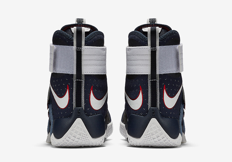 e4094bc7722 authentic nike has designed a patriotic themed lebron zoom soldier 10 for  the 2016 olympics sneaker exclusive 04045 923ab  sweden nike lebron soldier  10 ...