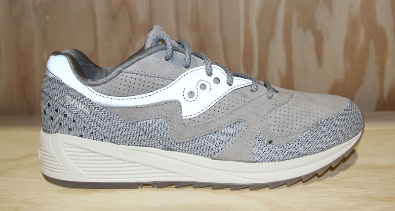 saucony grid 8000 grey dirty snow ii