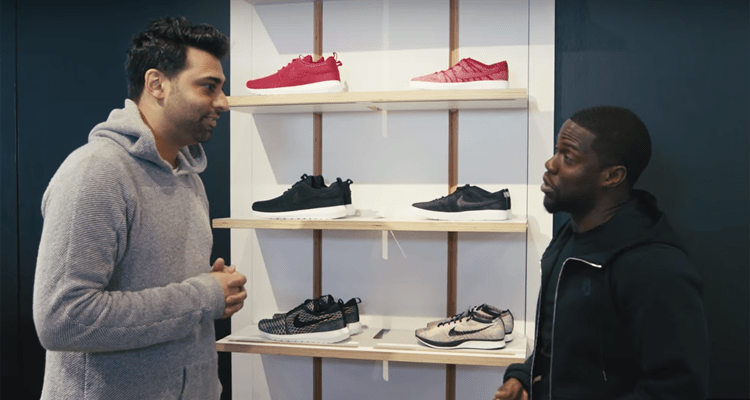 Joe La Puma Goes Sneaker Shopping with Kevin Hart