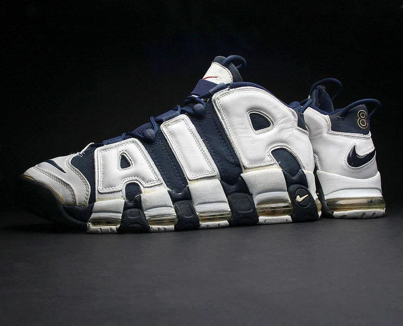 "a89c9024c6f66 Top Shelf // An Original Scottie Pippen ""Olympic"" Nike Air More Uptempo PE"