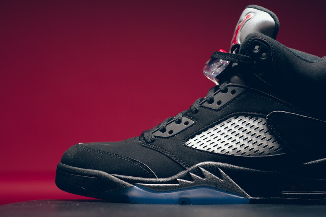 Air Jordan 5 OG Black/Metallic