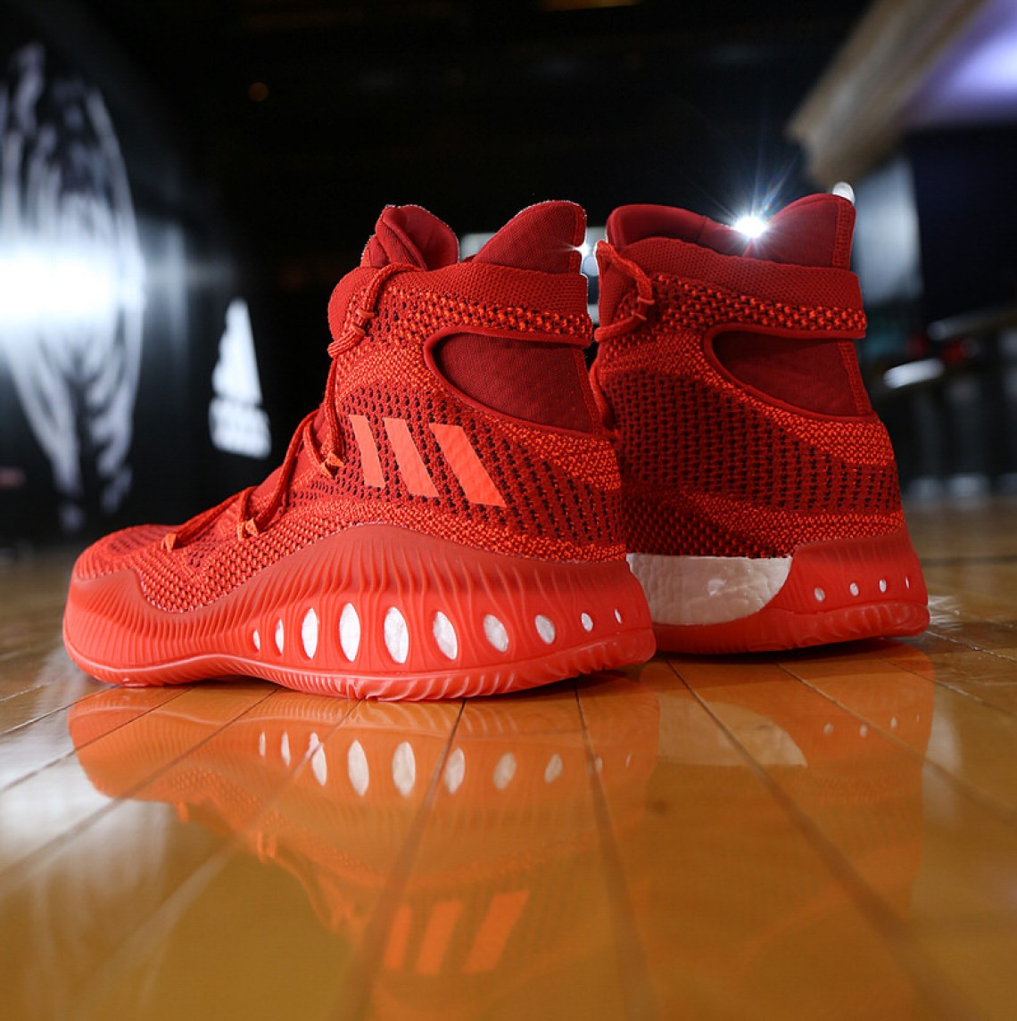 adidas Crazy Explosive Red 3