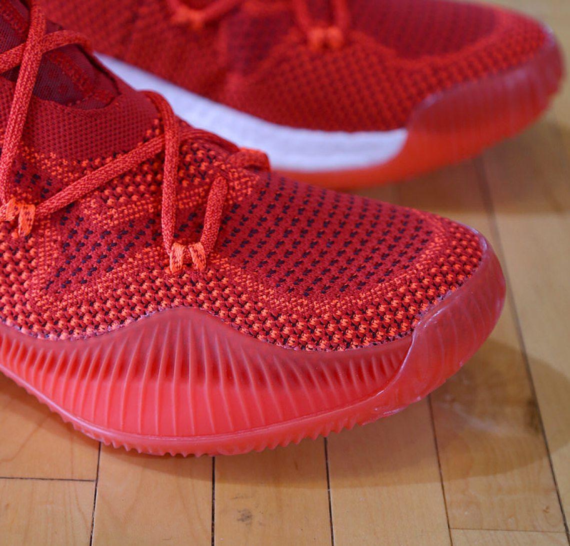 adidas Crazy Explosive Red 4