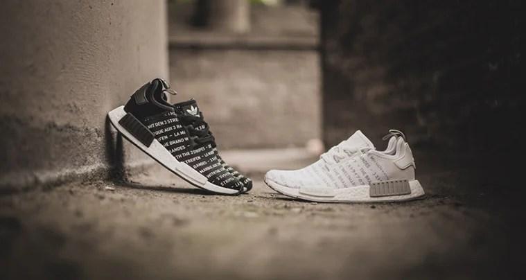 Adidas nmd neroout / tempesta le belle scarpe
