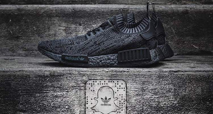 adidas NMD R1 Primeknit Pitch Black
