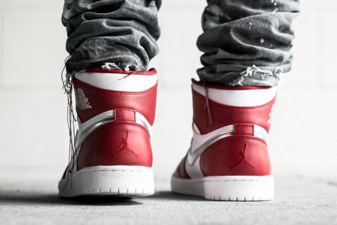 Air Jordan 1 High Gym Red Metallic Silver Release Date