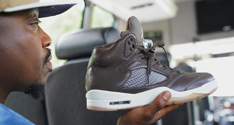 Anthony Hamilton Unveils Unreleased Air Jordan 5