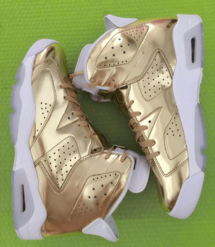 "Air Jordan 6 Pinnacle ""Gold"""