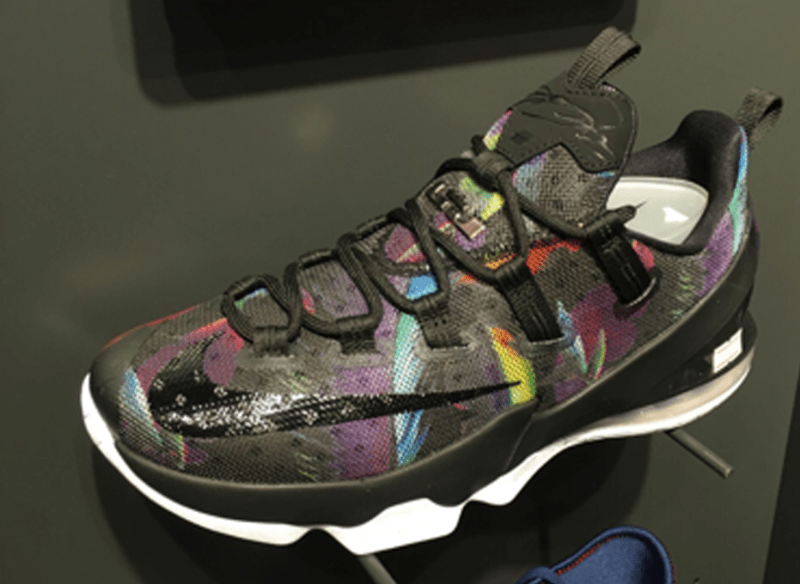dc28460aa1d1f New Nike LeBron 13 Low Colorway Has Emerged