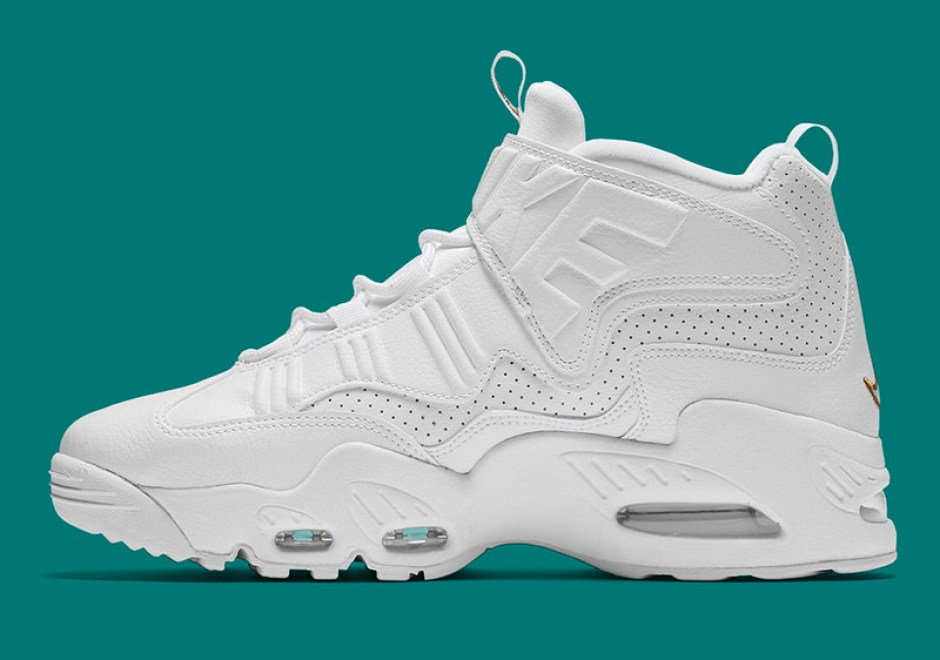 new concept 06dcf 42a3f ... Nike Air Griffey Max 1 Triple White