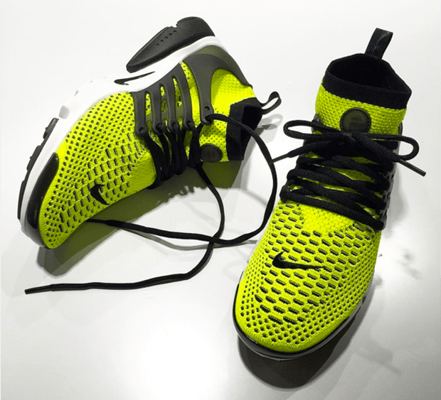 Nike Air Presto Ultra Flyknit Volt/Black