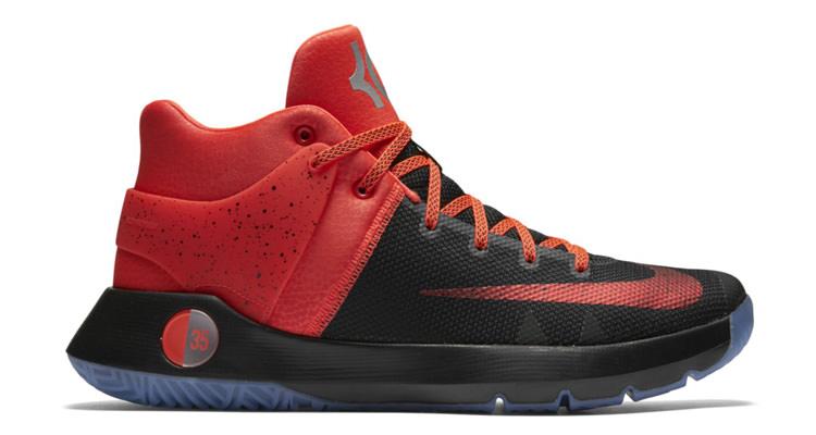 watch c59dc 66de0 Nike KD Trey 5 IV Premium Black Bright Crimson