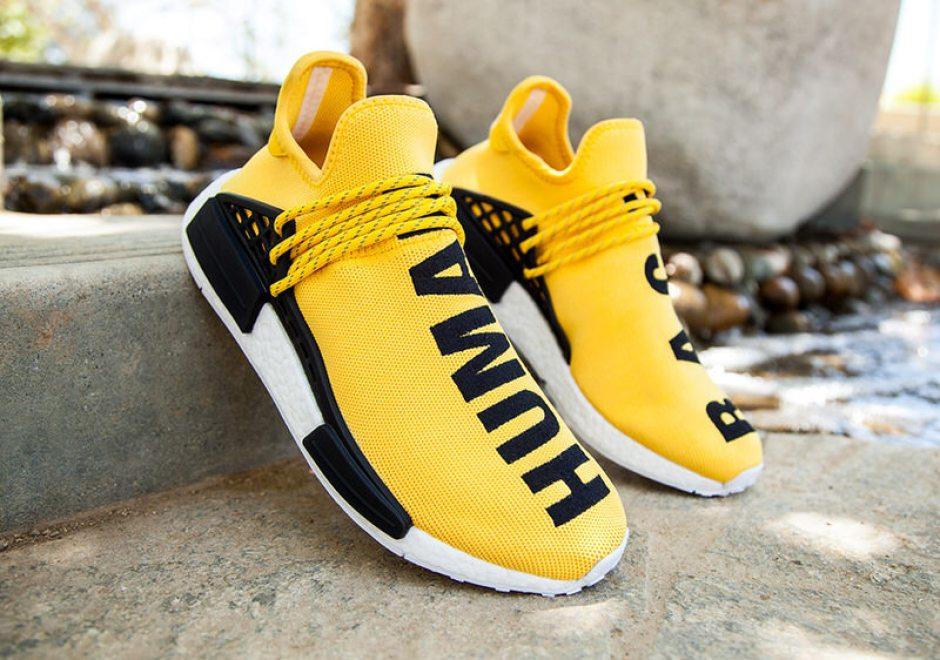 Pharrell Williams X Adidas NMD Human Race HU Blue SIZE: US7