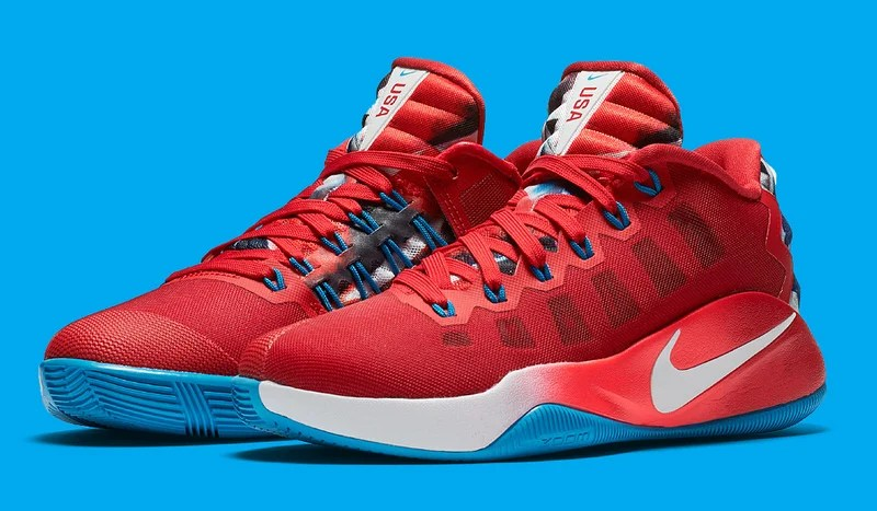 brand new ca5cf e253b Interview    Nike Honors Iconic  96 US Women s Team With New Hyperdunk 2016  Low