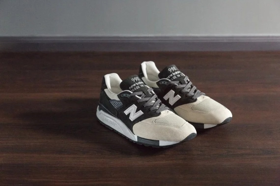 Todd Snyder x New Balance 998 Black and Tan