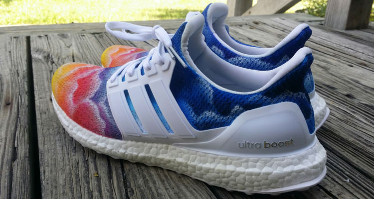 "adidas Ultra Boost ""Phenomenal"" Custom by Bago Customs 80ac94fe0"