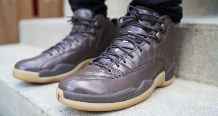 "Anthony Hamilton Rocks ""Chocolate"" Air Jordan 12 PE"