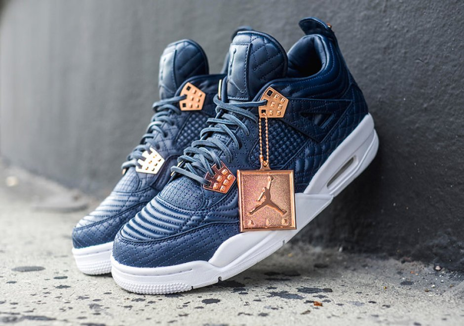 reputable site 131c5 0406f Air Jordan 4 PRM Obsidian