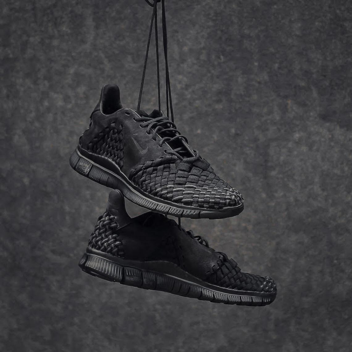 new product be944 538fc ... Nike Free Inneva Woven 2 Triple Black