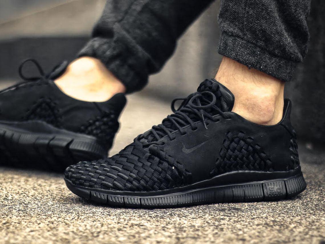 new product a6ae1 71979 ... Nike Free Inneva Woven 2 Triple Black