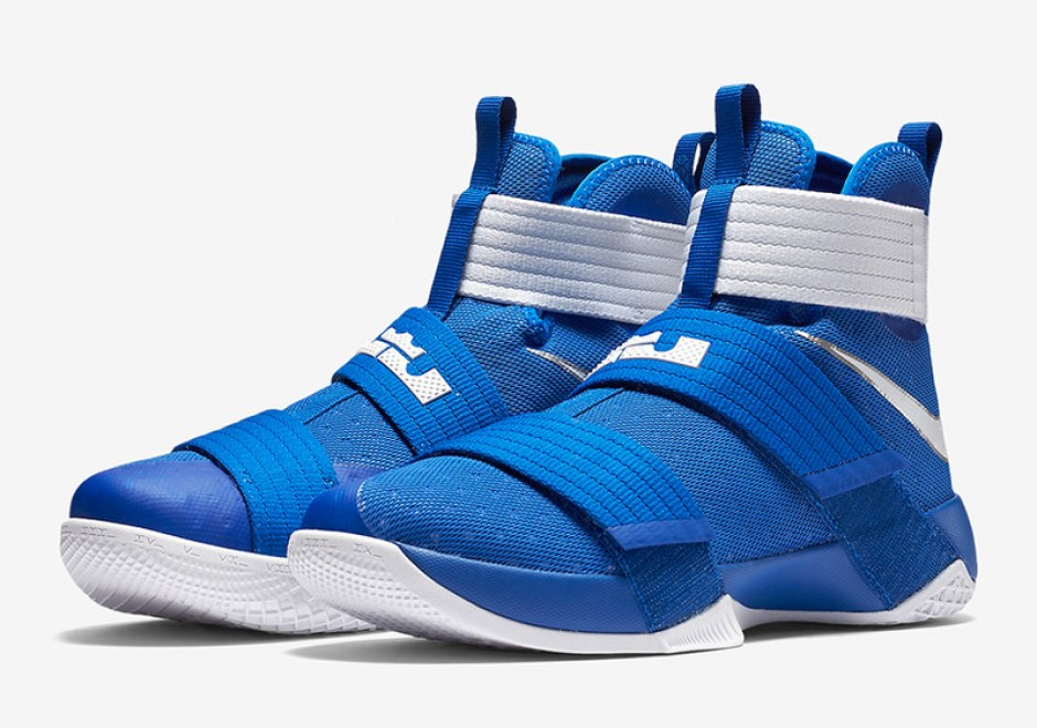 Nike LeBron Soldier 10 Debuts in Ohio State and Kentucky Colorways ... e3c4dc5f6