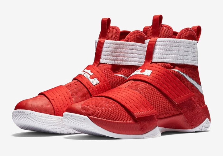 timeless design 502ac 9745a Nike LeBron Solider 10 Buckeyes Nike LeBron Soldier 10 Buckeyes ...