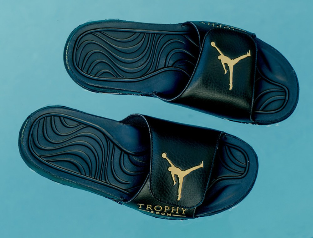 Trophy Room x Jordan Slides
