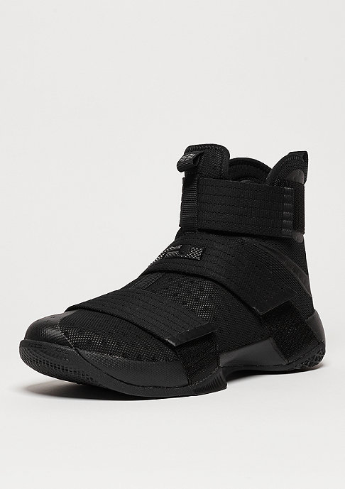 Nike LeBron Soldier 10 Triple Black