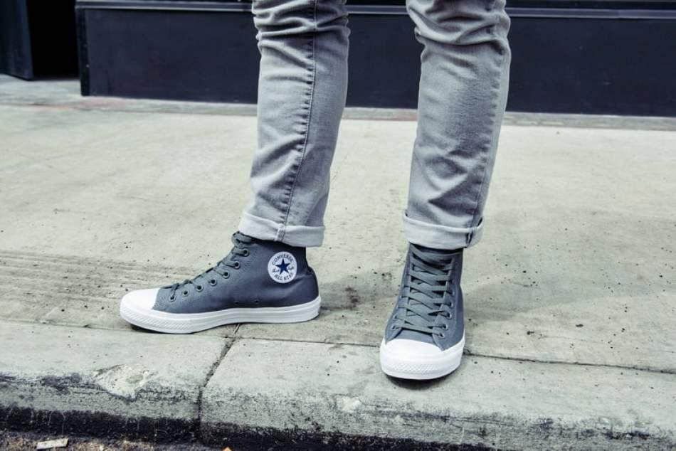 b5a3d41c4fa3 Styled    Converse Chuck II High Top with Converse Essentials ...