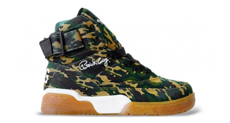 Ewing Athletics 33 Hi Camo/Gum