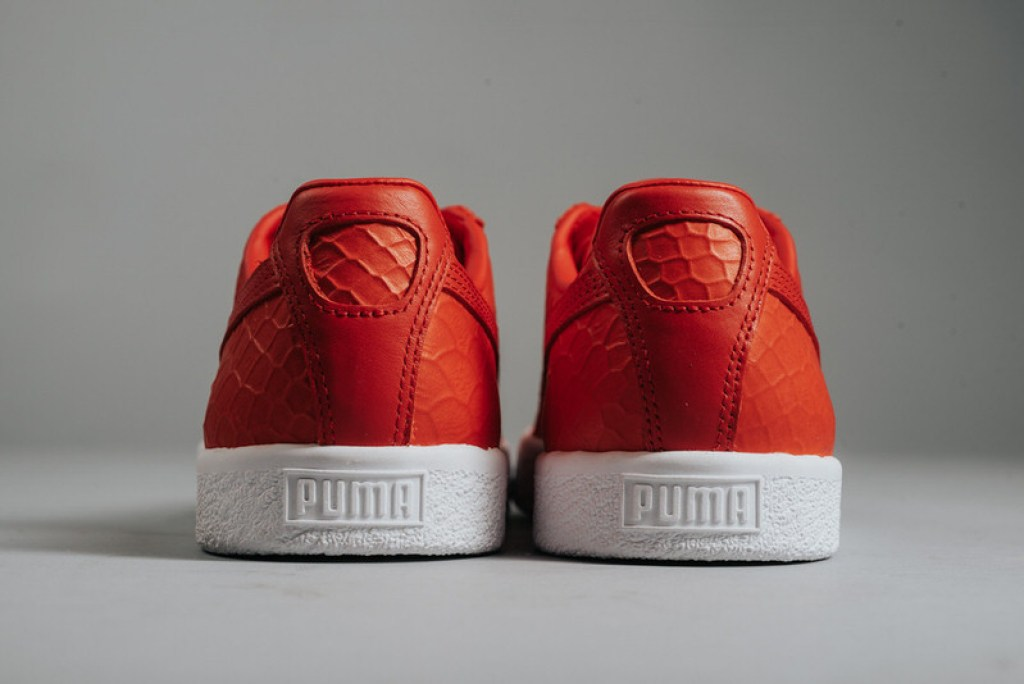 PUMA Clyde Dressed High Risk Red PUMA Clyde Dressed High Risk Red 86274ed17