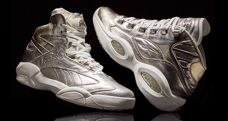 """d3ce0e87edd Reebok Pays Tribute to Shaq and Iverson s Hall of Fame Induction with """"16  Hoop Hall"""" Pack"""