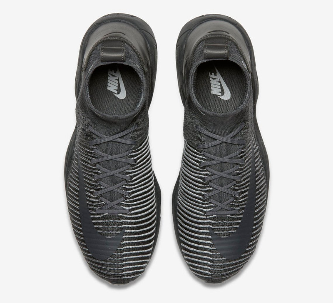 a11bda503015 Nike Zoom Mercurial Flyknit Dark Grey Nike Zoom Mercurial Flyknit Dark Grey