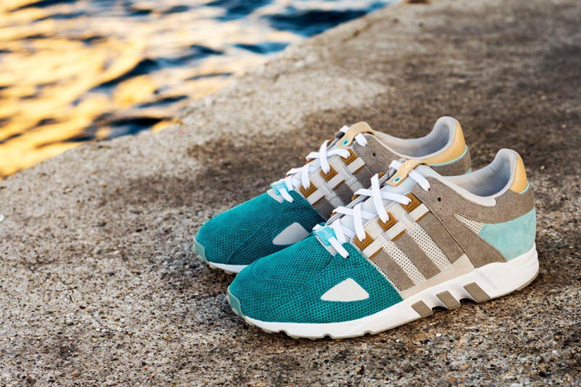size 40 5f404 f04bf Sneakers76 x adidas EQT Guidance 93 Bridge of Two Seas