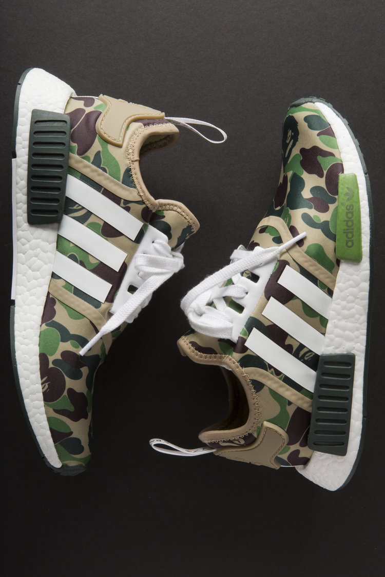 An In Depth Look at A Bathing Ape x adidas Originals NMD R1