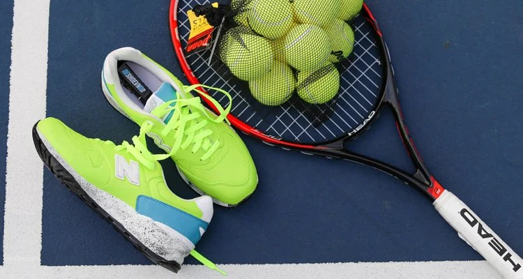 "New Balance 999 ""Tennis Ball"" Custom by Malcolm Garret"