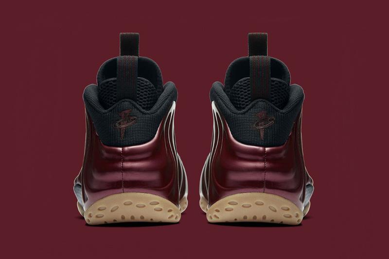 Nike Air Foamposite maron