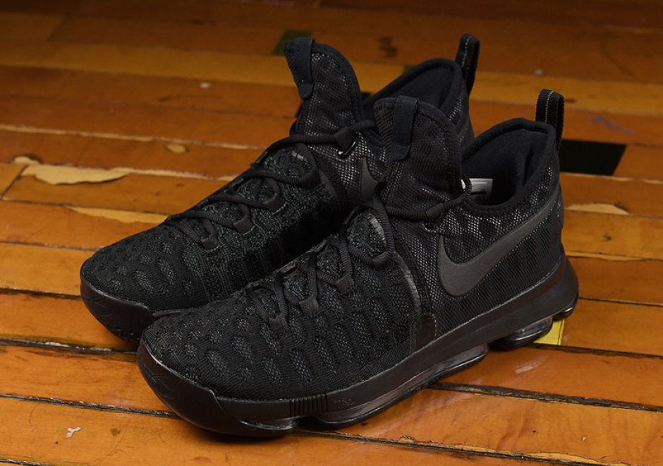 aa1370d9b906 Nike KD 9 Triple Black Nike KD 9 Triple Black
