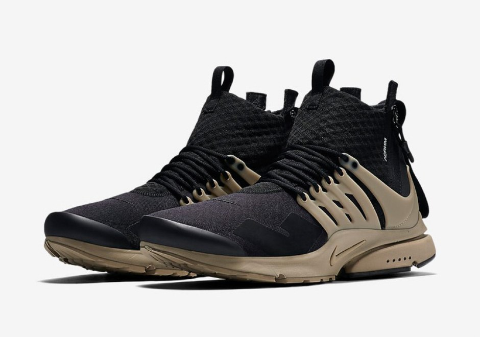 4cfb65473bc1 ACRONYM x Nike Presto Mid Collection Drops This Week