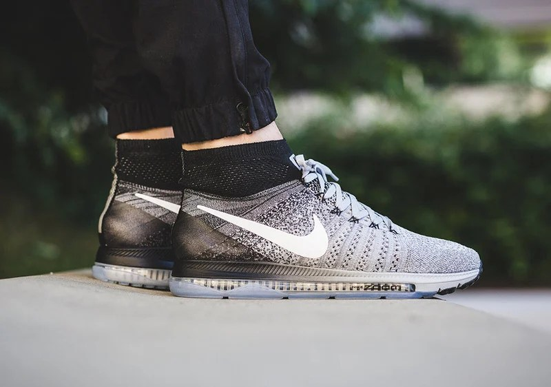 nike zoom all out flyknit oreo