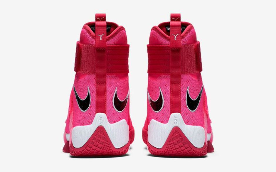 "super popular f819c d2762 Nike Zoom LeBron Soldier 10 ""Kay Yow"" ..."