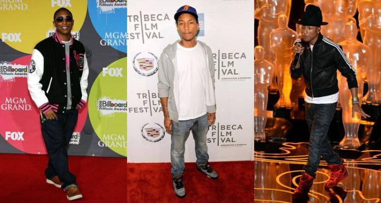 Celebrity Sneaker Stalker Spotlight // Pharrell Williams