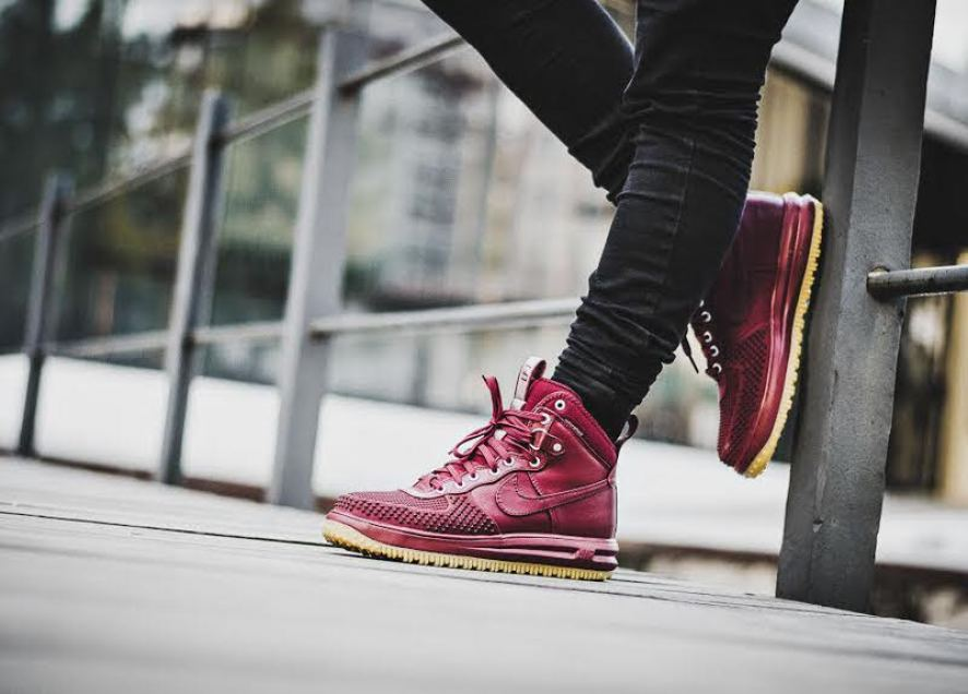 big sale 7d2af 299ac ... Nike Lunar Force 1 Duckboot Team Red
