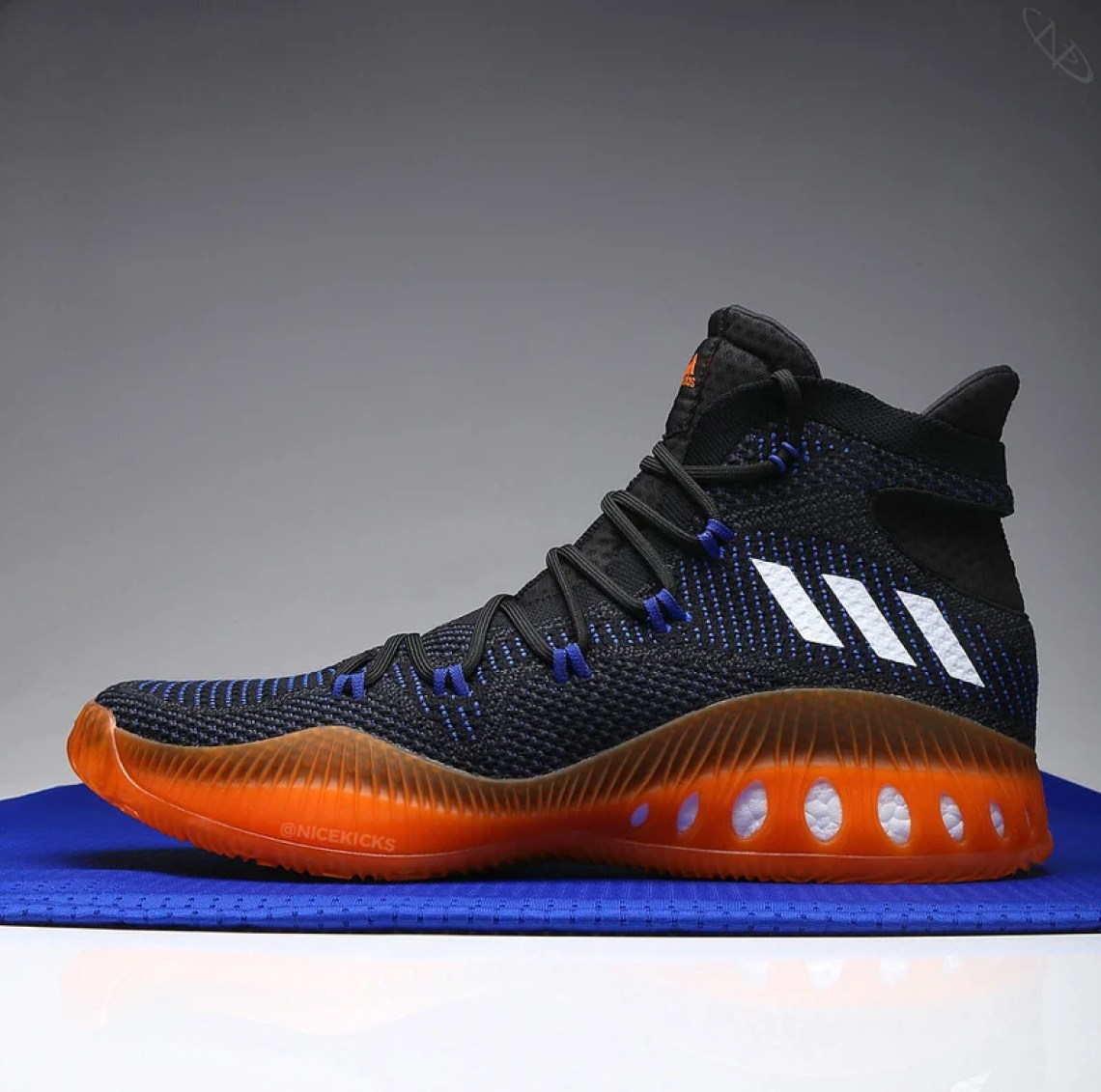 on sale 4fc0f 062bf ... 1200-kp-adidas-crazy-explosive-knicks-pe-black- ...