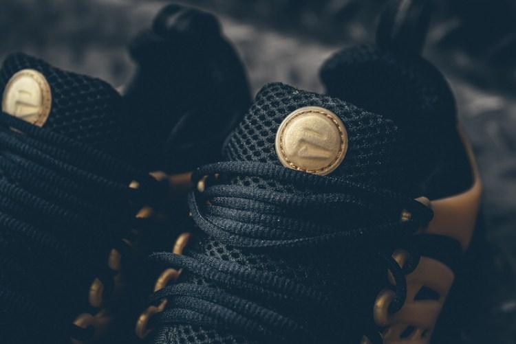 super popular 20b17 76b61 Nike Air Presto Essential Black Metallic Gold